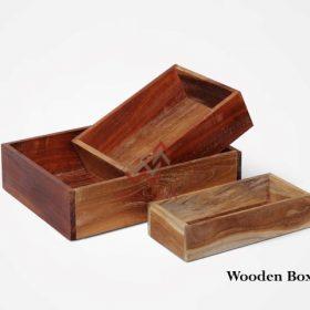 Wooden Box Set of 3