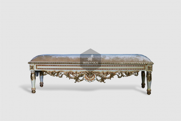 Alusso Bench Classic Loose Furniture