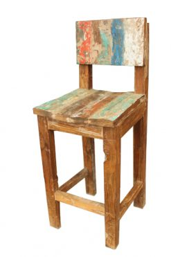 Jovi Wooden Bar Chair