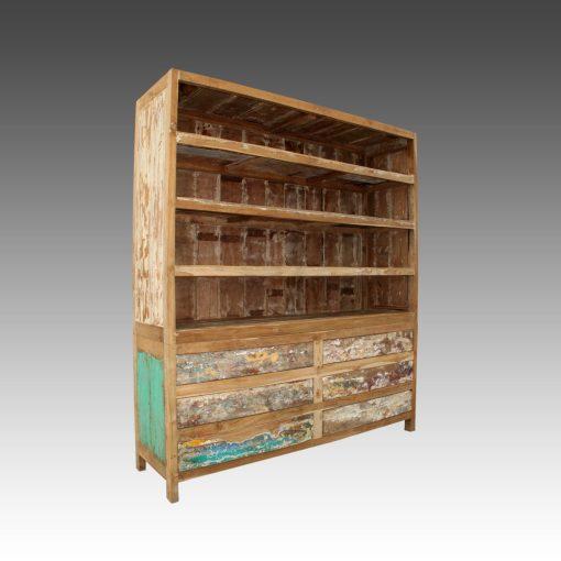 Adeeva Wooden Bookshelf