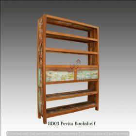 Pevita Wooden Bookshelf