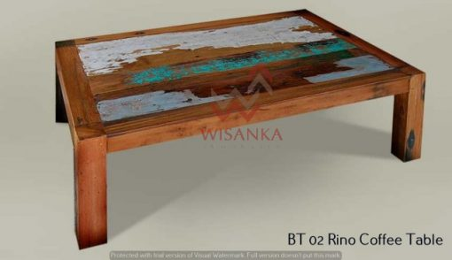 Rino Wooden Coffee Table