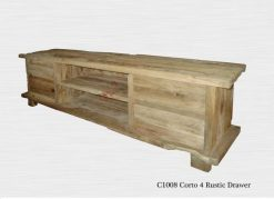 Corto Rustic 4 Drawer