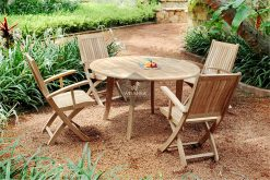 Wooden Angela Dining Set Collection