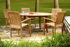 Collection Wooden New Java Dining Set