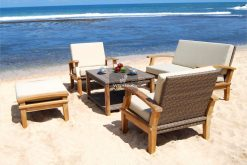Wooden Venice Living Set Collection