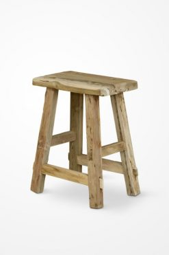 Kenji Wooden Stool