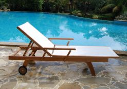 Monica Lounger Sun Bed Outdoor Pool