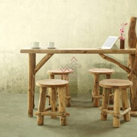 Katana Reclaimed Dining Set