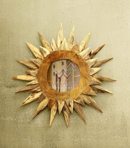 Matahari Reclaimed Teak Mirror