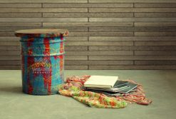 Drum Reclaimed Stool