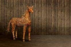 Wooden Horse Display
