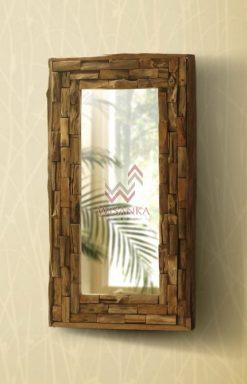 Cabana Wooden Mirror