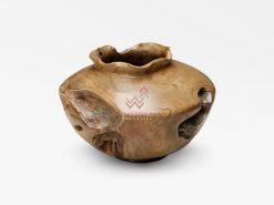Barna Wooden Vase