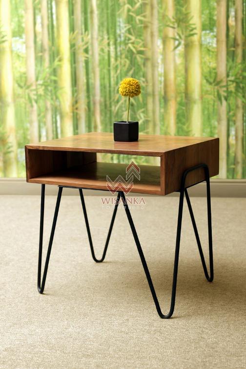 Alya Wooden Table
