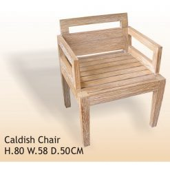 Cashdish Rustic Wood Chair
